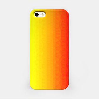Thumbnail image of Polygon mesh art iPhone Case, Live Heroes