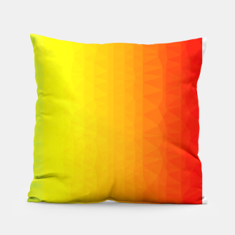 Thumbnail image of Polygon mesh art Pillow, Live Heroes
