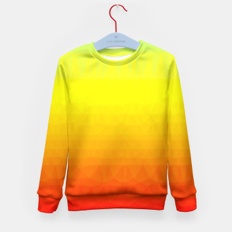 Thumbnail image of Polygon mesh art Kid's Sweater, Live Heroes