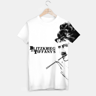 Thumbnail image of Blitzkrieg at Tiffany's T-shirt, Live Heroes