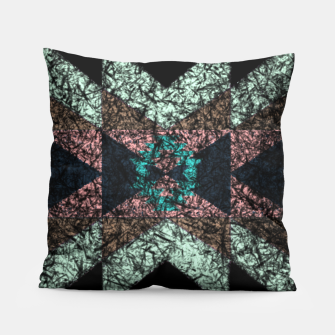 Thumbnail image of Outworn Tribal Pattern  Pillow, Live Heroes
