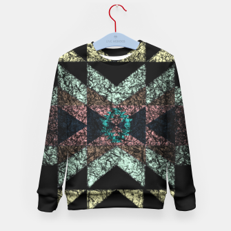 Thumbnail image of Outworn Tribal Pattern  Kid's Sweater, Live Heroes