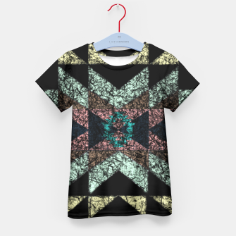 Thumbnail image of Outworn Tribal Pattern  Kid's T-shirt, Live Heroes