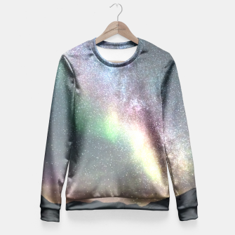 Thumbnail image of Universe Fitted Waist Sweater, Live Heroes