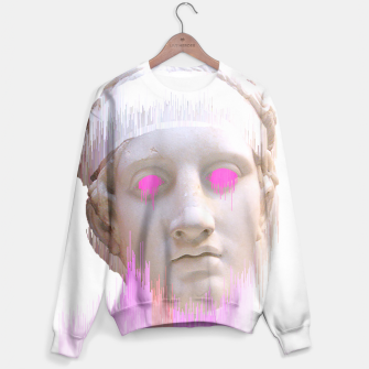 Thumbnail image of Glitched Greek Sweater, Live Heroes