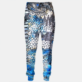 Thumbnail image of Beautiful but angry fish Sweatpants, Live Heroes
