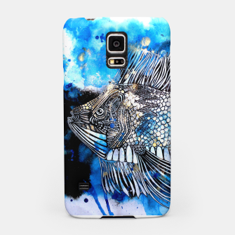 Thumbnail image of Beautiful but angry fish Samsung Case, Live Heroes