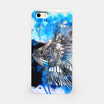 Thumbnail image of Beautiful but angry fish iPhone Case, Live Heroes