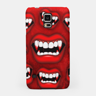 Thumbnail image of Vampire Red Bloody Mouth Samsung Case, Live Heroes