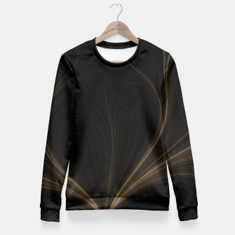 Thumbnail image of Creative Spark Fitted Waist Sweater, Live Heroes