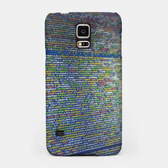 Thumbnail image of Hacker Samsung Case, Live Heroes