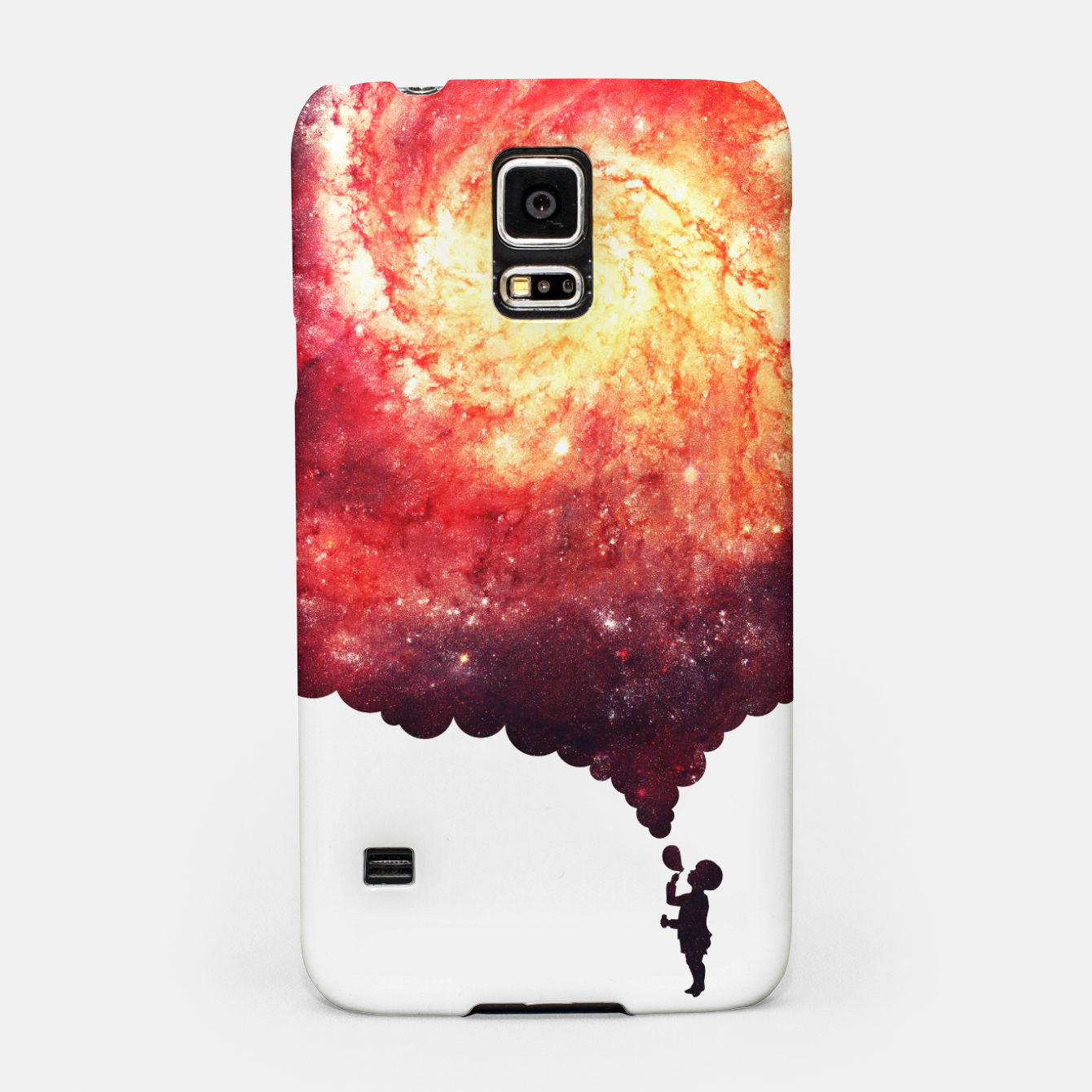 Image of The Universe in a Soap Bubble (Spiritual Space Artwork) Samsung Case - Live Heroes