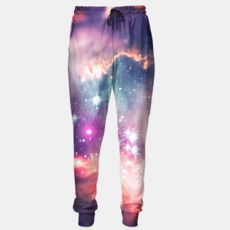 Miniature de image de The universe under the microscope (space tilt shift art) Sweatpants, Live Heroes