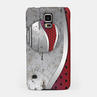 Thumbnail image of 3D metal texture art Samsung Case, Live Heroes