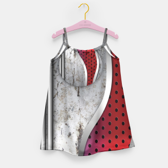 Thumbnail image of 3D metal texture art Girl's Dress, Live Heroes