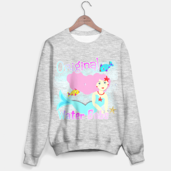 Thumbnail image of Girly Cute Mermaid Water Babe  Sweater regular, Live Heroes