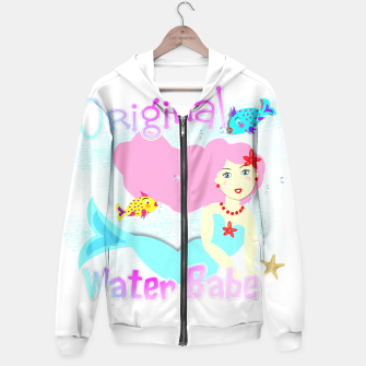 Thumbnail image of Girly Cute Mermaid Water Babe  Hoodie, Live Heroes