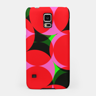 Thumbnail image of Dotty Spotty Geometric Pink Red Green Mix Samsung Case, Live Heroes
