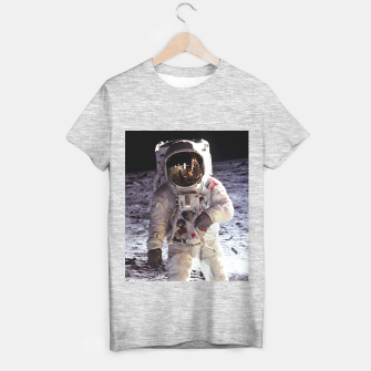 Miniaturka APOLLO-11 LUNAR WALK T-shirt regular, Live Heroes
