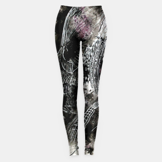 Thumbnail image of Damn you're ugly Leggings, Live Heroes