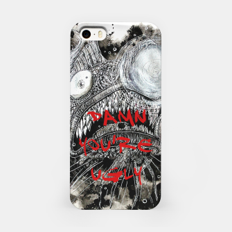 Thumbnail image of Damn you're ugly iPhone Case, Live Heroes