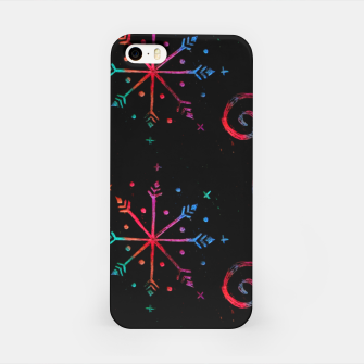 Miniatur Christmas Crayons Stars  iPhone Case, Live Heroes