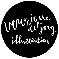 Veronique de Jong logo