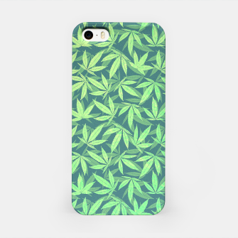 Miniature de image de Cannabis Dope Weed / Hemp Leaf Pattern Design iPhone Case, Live Heroes
