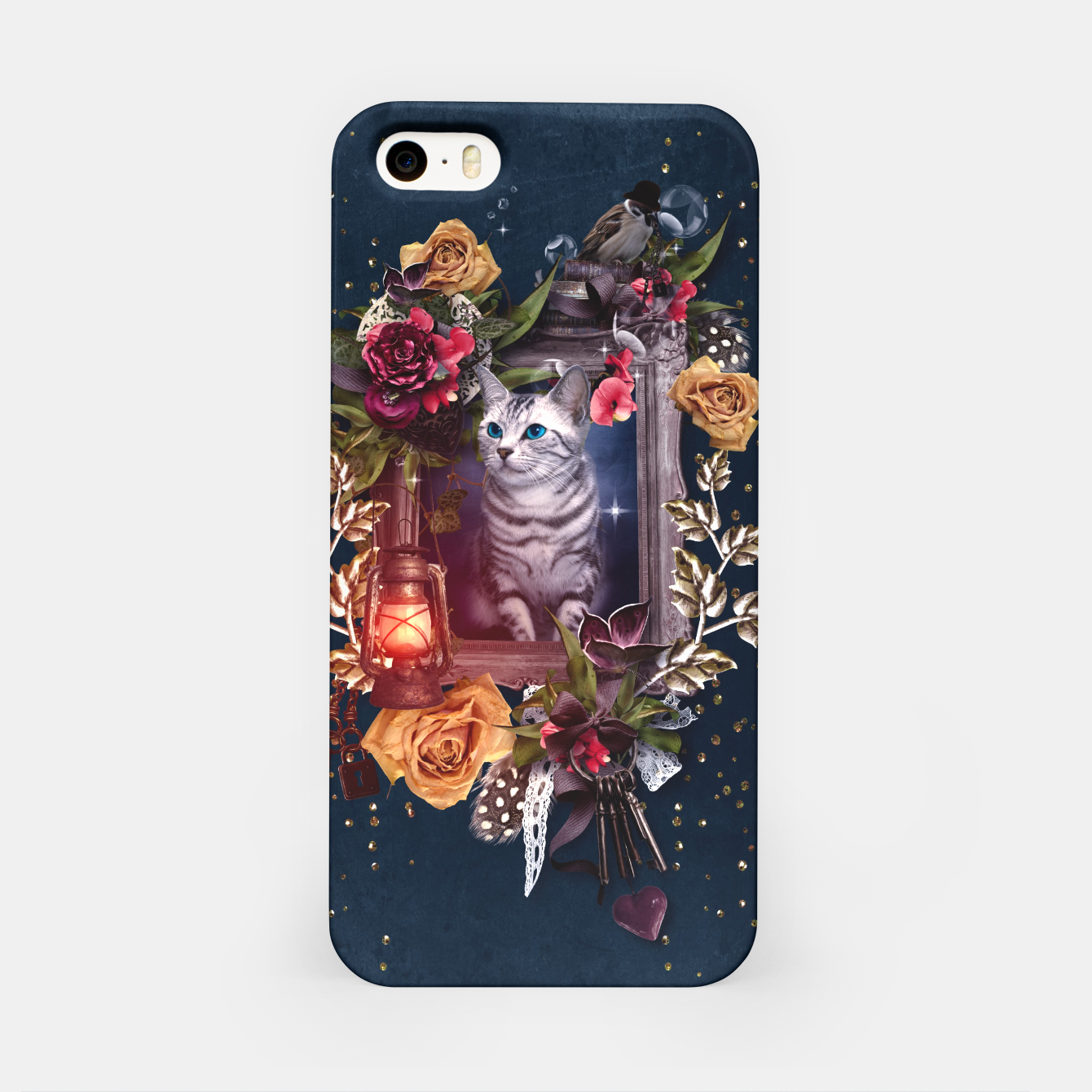 Image of Cat iPhone Case - Live Heroes