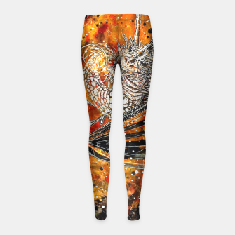 Thumbnail image of From the sun Girl's Leggings, Live Heroes