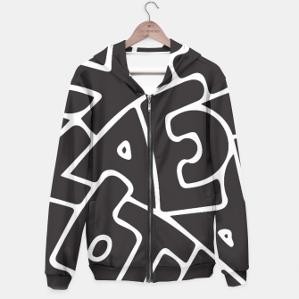 Thumbnail image of Alphabet White Hoodie, Live Heroes