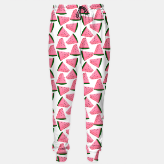 Thumbnail image of Fruity Summer PinkW atermelon Print Sweatpants, Live Heroes