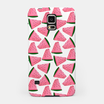 Thumbnail image of Fruity Summer PinkW atermelon Print Samsung Case, Live Heroes