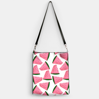 Thumbnail image of Fruity Summer PinkW atermelon Print Handbag, Live Heroes