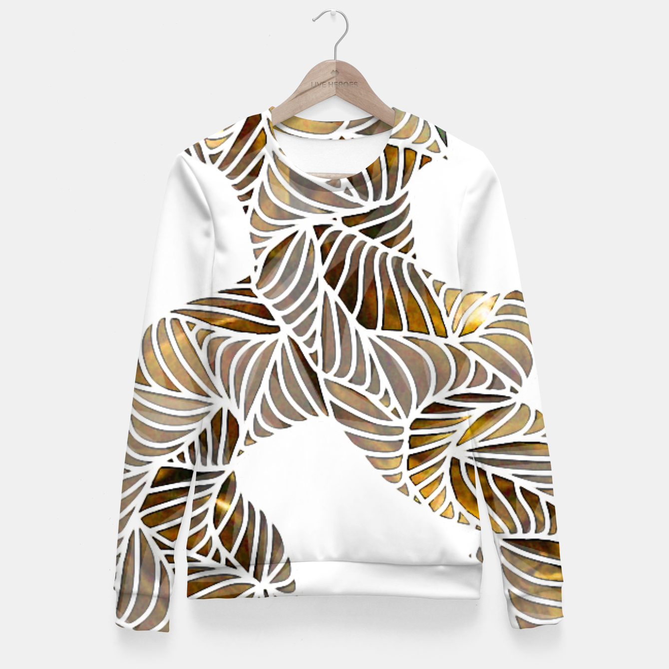 Image of Ub Fitted Waist Sweater - Live Heroes
