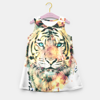 Thumbnail image of Tiger III Girl's Summer Dress, Live Heroes