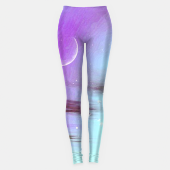 Pastel moon  Leggings thumbnail image