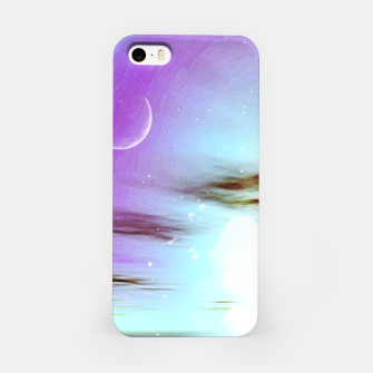 Pastel moon  iPhone Case thumbnail image