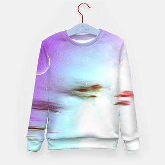 Thumbnail image of Pastel moon  Kid's Sweater, Live Heroes