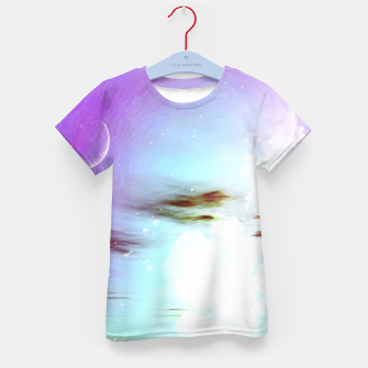 Pastel moon  Kid's T-shirt thumbnail image