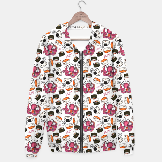 Thumbnail image of Cute sushi Hoodie, Live Heroes