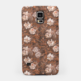 Thumbnail image of White roses, brown scale Samsung Case, Live Heroes