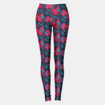 Fighting fish Leggings imagen en miniatura