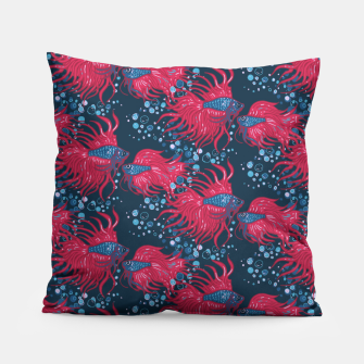 Fighting fish Pillow imagen en miniatura