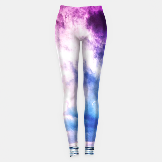 Cloudy shores Leggings thumbnail image