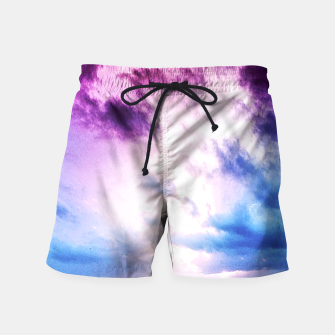 Cloudy shores Swim Shorts thumbnail image