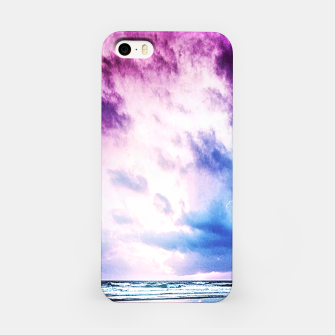 Cloudy shores iPhone Case thumbnail image