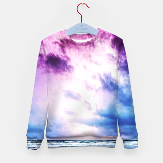 Cloudy shores Kid's Sweater thumbnail image