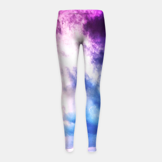 Cloudy shores Girl's Leggings thumbnail image