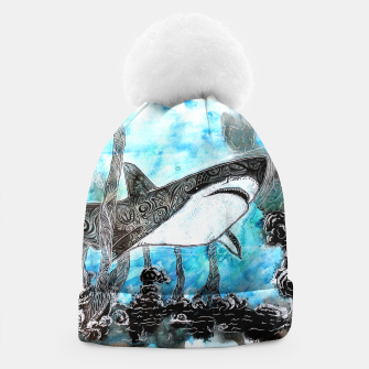 Thumbnail image of Tattooed swimmer Beanie, Live Heroes